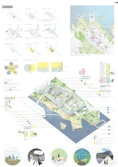 """Europan Grønneviksøren - The winner project """"Our City, Our Collective"""" explores the meeting between the public and the priva - Concept Board Architecture, Site Analysis Architecture, Architecture Presentation Board, Architecture Panel, Presentation Layout, Architecture Graphics, Architecture Portfolio, Architecture Student, Architecture Diagrams"""