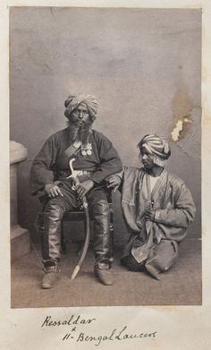 Rissaldar of the Bengal Lancers, 1865 Bengal Lancer, William Dalrymple, Colonial India, Uk History, Age Of Empires, Amritsar, Indian Army, British Indian, Mahatma Gandhi