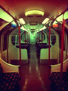 Alone in the Tube. London, England. Love love love! wanted to never drive again!