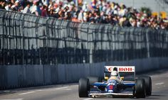 f1pictures:  Nigel Mansell Williams - Renault Phoenix 1991