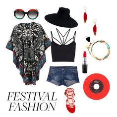 """•Coachella '17 ♥️"" by hannahhfaith ❤ liked on Polyvore featuring Klique B, Sweaty Betty, Gucci, MAC Cosmetics, Stuart Weitzman and Shashi"