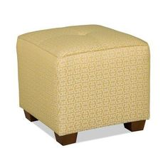 Sam Moore Karly Ottoman Finish: Java, Upholstery: 2293 Linen
