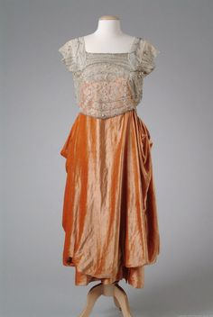 Dress  1921  The Meadow Brook Hall Historic Costume Collection