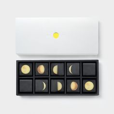 Citrus Moon on Mooncakes -- Tile Packaging Design would be great for square truffles and caramels as well