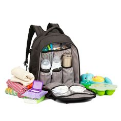 ALLCAMP diaper bag Multifunction Large capacity Pockets in Pockets support baby stroller with changing pad coffee coffee >>> Click image for more details.-It is an affiliate link to Amazon. #DiaperBags