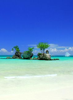 Amanpulo is a luxury spa resort  on a private island in the Philippines.