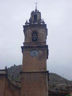 Campanario del templo de Sta. María de la Asunción de COCENTAINA (Alicante) · ESPAÑA