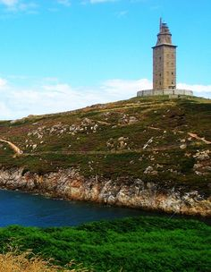 lighthouse in galicia