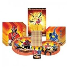 Power Rangers Samurai party supplies...perfect for a themed party.