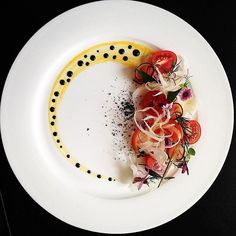 Root and tomatoes salad - perfect summer treat by @chef_michel_lombardi Tag your best plating pictures with #armyofchefs to get featured! ------------------------ #foodart #truecooks #foodphoto #chefsroll #chefsofinstagram #foodphotography #hipsterfoodofficial #foodphotographer #gastroart #wildchefs #delicious #instafood #instagourmet #gourmet #theartofplating #gastronomy #foodporn #foodism #foodgasm #plating #root #tomatoe #salad
