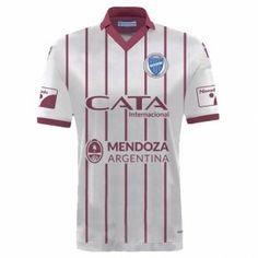 b3bb71f35666c Godoy Cruz Antonio Tomba 2017-18 Season Away White Shirt Jersey  K235   Camisetas
