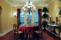 slipcovered dining room chairs modern wood dining room tables dining room tables with benches #DiningRoom