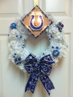#Indianapolis #Colts Wreath