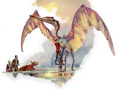 Montaria alada, Dinotopia - O Mundo Subterrâneo