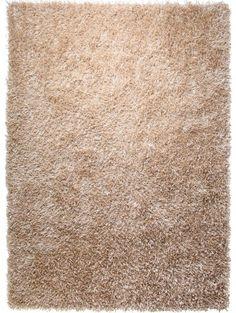 Hochflor Teppich Cool Glamour Beige