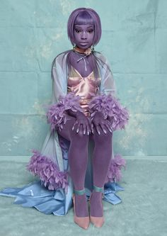 "Grace Jenkinson Lingerie - Editorial - Portraiture Series ""Vanessa"" - Photographer Carolina Mizrahi"