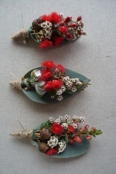 Native boutonniere by RANE flowers