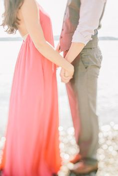 Engagement Photography by Clane Gessel | #engagement #photography #waterfront