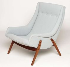 "Milo Baughman ""Scoop"" Chairs 