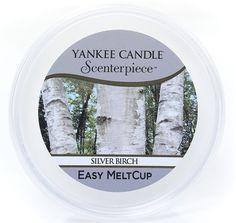 Bouleaux argentés - Easy MeltCup - Cire parfumée Yankee Candle - Noel