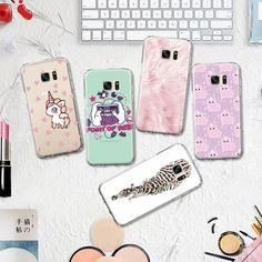 Floral Zebra Little Unicorn Alpaca Pattern TPU Phone Case for Samsung Galaxy J3 J5 J7 A3 A5 2016 2017 Silicone Case  #Affiliate