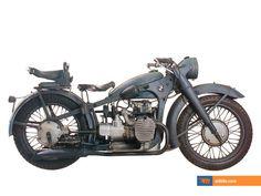 1938 BMW R12 Army