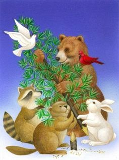 Beaver and Friends ~ Stephanie Stouffer