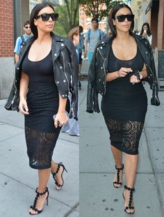 Don't mind her.......check out that outfit tho from head to toe.......and those pumps