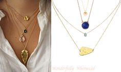Currently Loving: Layering Delicate Necklaces - MichellePhan.com – MichellePhan.com