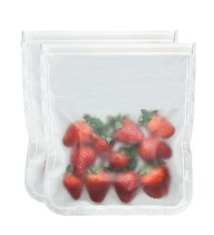 BlueAvocado (re)sip Gallon size 2-pack. This is a great product to replace the average plastic bags. They're even great in the freezer. Found at Reuseit.com