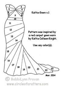Keltie Gown v.1 - template - bjl