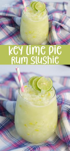 This Key Lime Cocktail with rum and fresh key limes is a delicious summer slushy! This Key Lime Cocktail with coconut rum and fresh key limes is a delicious summer slushie for the grown-ups! This will cool you off all summer long. Summer Drink Recipes, Alcohol Drink Recipes, Summer Drinks, Fun Drinks, Healthy Drinks, Lime Drinks, Key Lime Drink Recipes, Beverages, Healthy Shakes