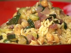 Orzo with Chick Peas from FoodNetwork.com