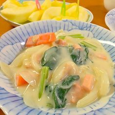 乳製品不使用で作りました (o^^o) - 55件のもぐもぐ - 鮭と小松菜の豆乳シチュー by smky