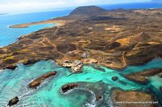 Isla de Lobos, Fuerteventura. #dreambeaches #beach #spain Tenerife is the largest of Spain?s Canary Islands and is located just off the coast of West Africa. In this stunning island you not only find spectacular views but also several temples, museums and old colonial towns.