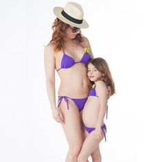 Areti Patmos - Mother and daughter swimwear.