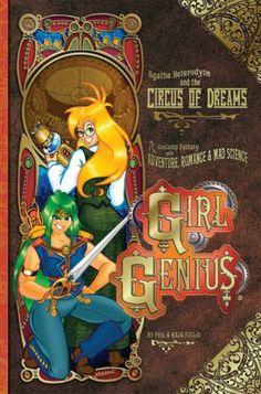 Girl Genius, Zeetha the green haired warrior