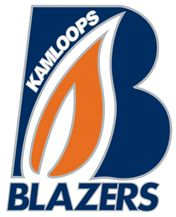 Kamloops Blazers Primary Logo on Chris Creamer's Sports Logos Page - SportsLogos. A virtual museum of sports logos, uniforms and historical items. Hockey Logos, Hockey Teams, Sports Clubs, Sports Logos, Sports Teams, Canada Hockey, Team Mascots, Nhl Games, Great Logos