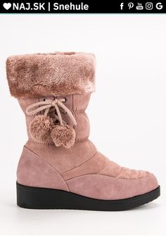 Púdrové snehule s kožušinou Seastar Adidas, Winter, Shoes, Fashion, Winter Time, Moda, Zapatos, Shoes Outlet, Fashion Styles