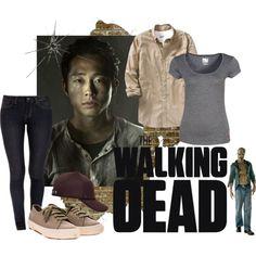 """Glenn (The Walking Dead)"" by c-r-c on Polyvore"