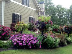Planters built on post and much more on this page.