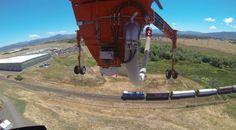 Erickson Air Crane lifting off.  Shot with GoPro Hero 3 Black.  Photo by Jason Moore.