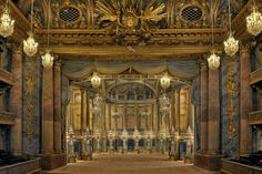Royal opera house at Versailles