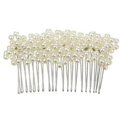 Handmade Charm Crystal Pearl Headpiece Bridal Wedding Hair Comb Clip by Generic * You can get additional details at the image link.