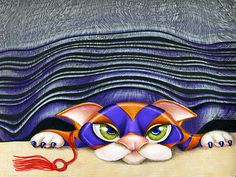 """""""Cat Shades"""" by Alma Lee"""