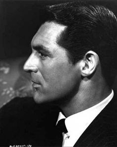 Cary Grant (beautiful profile)