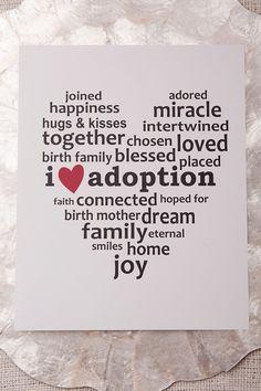 Corazón de Adopción