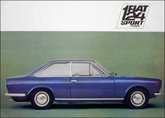Catálogo comercial del Fiat 124 Sport Coupe 1.400