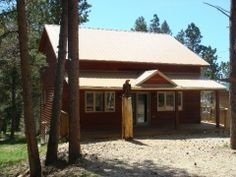 View all of our rental properties from Black Hills Vacation Homes. Beautiful scenery, relaxing environment and activities for everybody. Vacation Home Rentals, Rental Property, Lodges, Vacation Spots, Ideal Home, Gazebo, Scenery, Shed, Paisajes