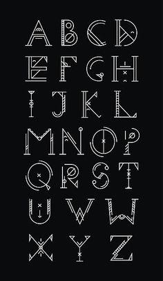 Graffiti Lettering Fonts, Hand Lettering Alphabet, Script Lettering, Lettering Styles, Typography Fonts, Lettering Design, Calligraphy Fonts Alphabet, Alphabet Symbols, Art Deco Font